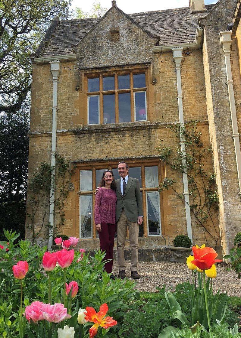 Los jardines de los Costwolds y Highgrove la casa del príncipe de Gales.