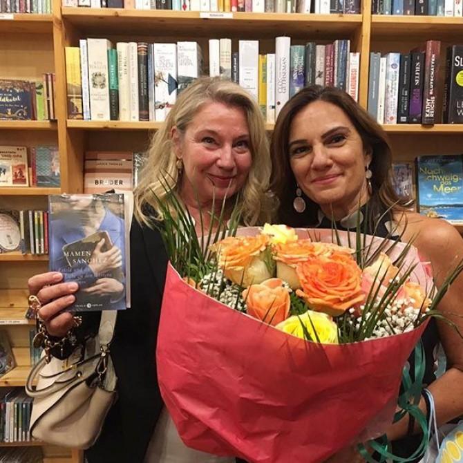 Mamen Sánchez presenta su nueva novela en Frankfurt
