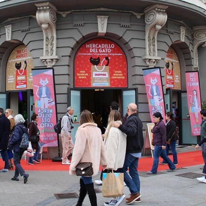 Mercadillo del Gato: Dos ediciones otoñales en Madrid