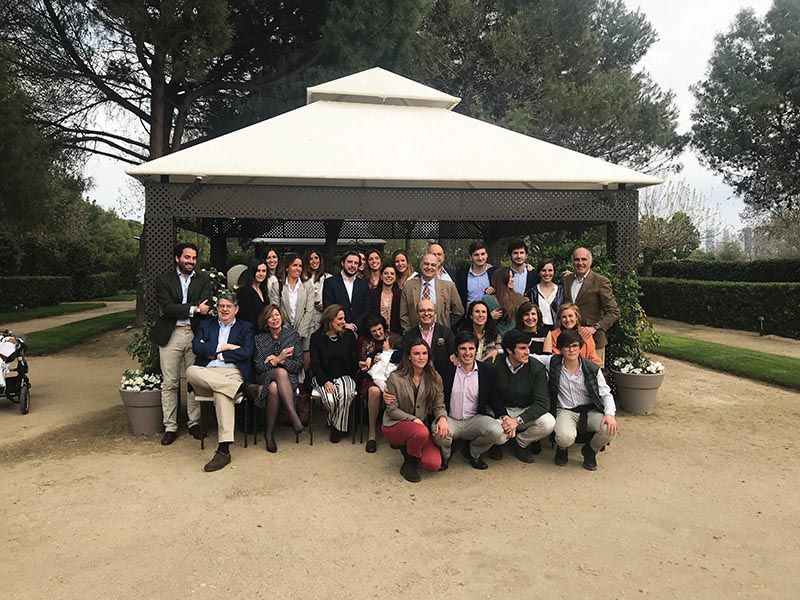 Segunda reunión de la familia Parages de Diego-Madrazo