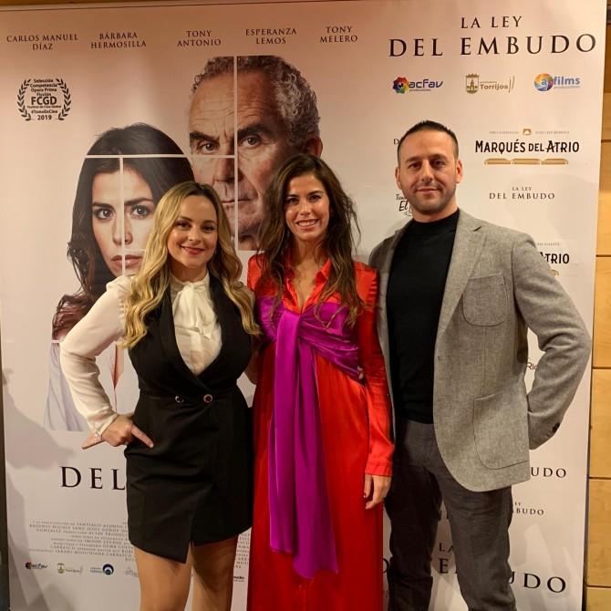 Premier de la película La ley del Embudo de Alfredo Carrasco