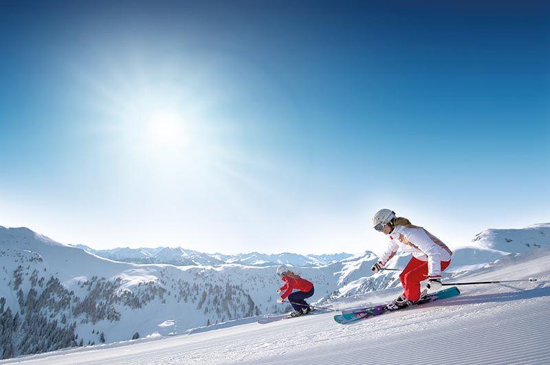 El sueño de un viaje de esquí en Snow Space Salzburgo