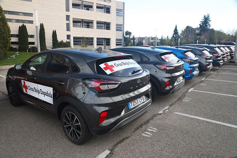 Ford España cede vehículos a Cruz Roja responde contra el covid-19