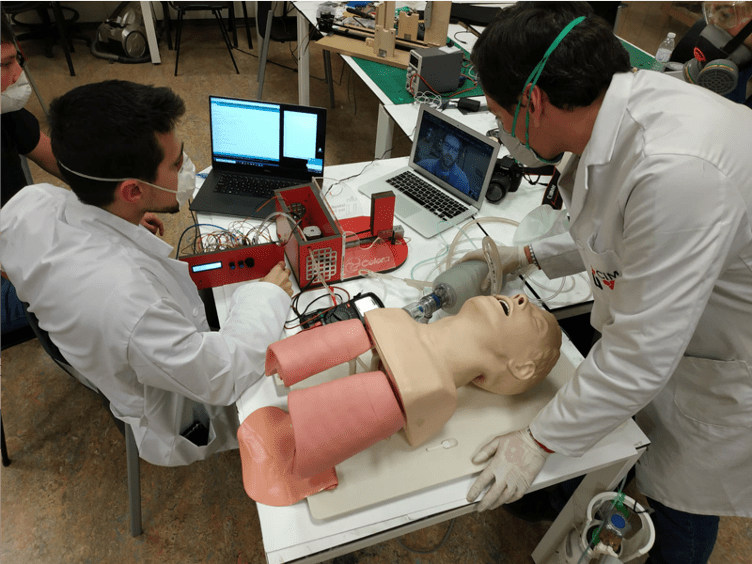 The Open Ventilator: Sinergia y talento español consiguen un respirador rápido de fabricar