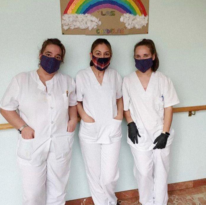 Compañía Fantástica dona 1000 mascarillas caseras