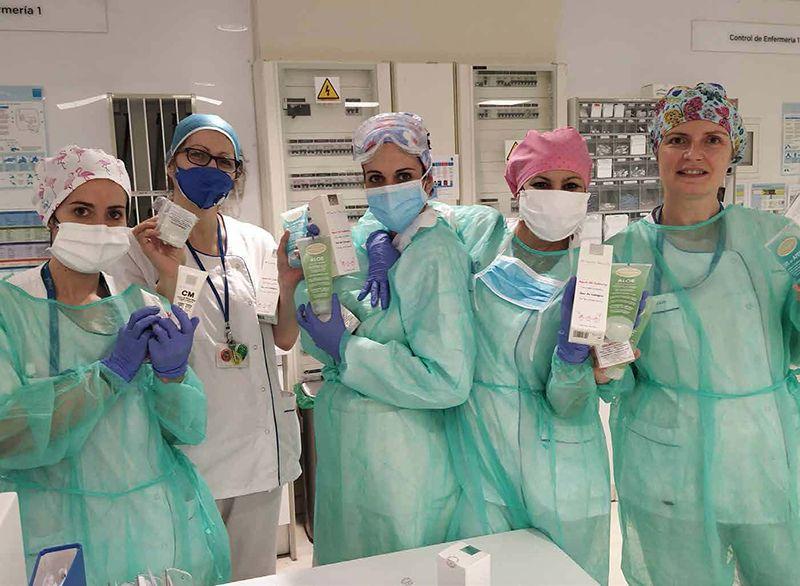 Laboratorios + Farma Dorsch cuidan de los que nos cuidan