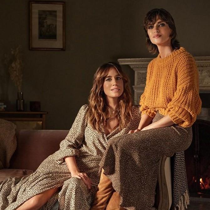 Cortefiel y Slow Love, la marca de moda de Sara Carbonero e Isabel Jiménez