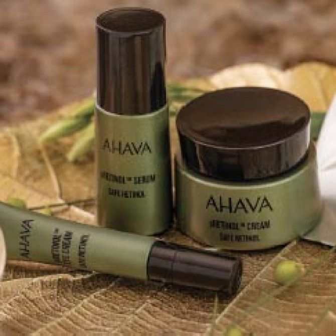 Ahava pRetinol: Save Retinol Skincare Line