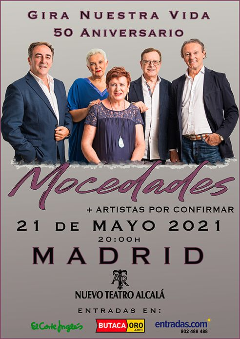 Mocedades celebra su 50 Aniversario en concierto