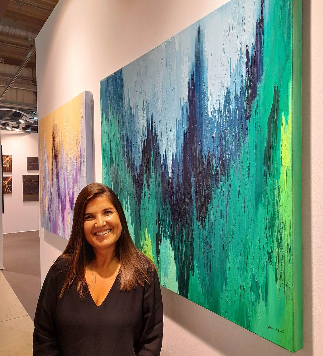 Gema Cebrián expone en la Feria Internacional de Arte Contemporáneo de Luxemburgo Art3f